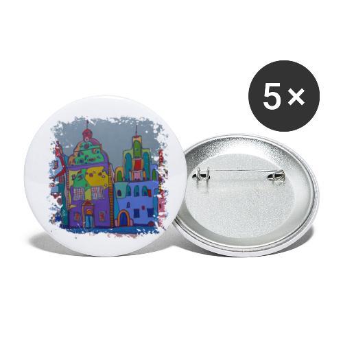 Riga - Buttons klein 25 mm (5er Pack)