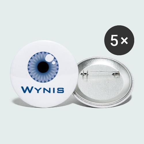 Productos Oficiales del canal @WYNIS2013. - Paquete de 5 chapas pequeñas (25 mm)