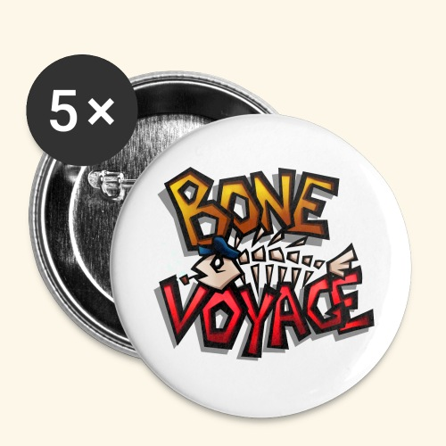 Logo - Buttons small 1''/25 mm (5-pack)