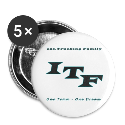 Logo Grijs Trans - Buttons klein 25 mm (5-pack)
