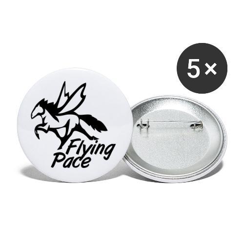 FLYING PACE - MT10 - Lot de 5 petits badges (25 mm)