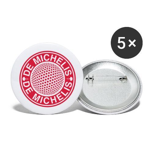 De Michelis Disco Party - Confezione da 5 spille piccole (25 mm)
