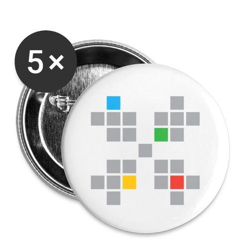 KUN HSF logo - Liten pin 25 mm (5-er pakke)