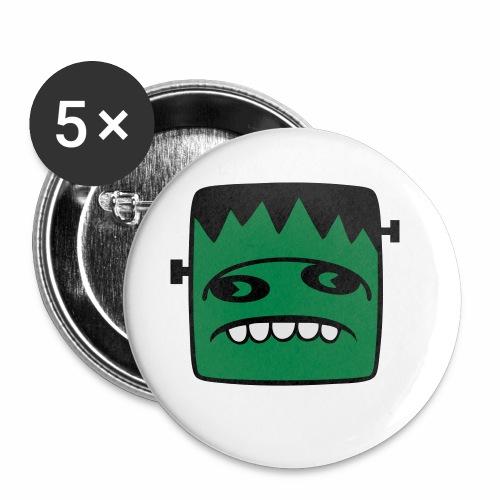 Fonster pur - Buttons klein 25 mm (5er Pack)