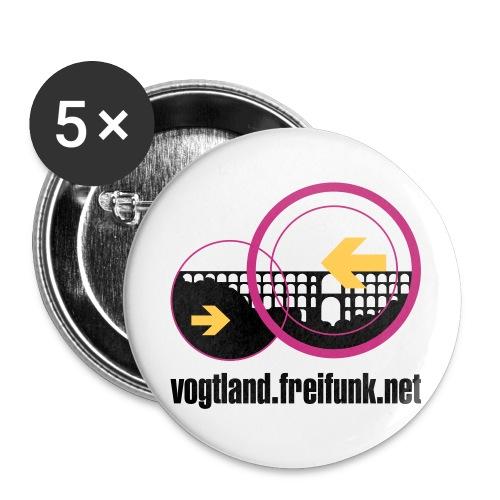 FFV-Logo-Normal - Buttons klein 25 mm (5er Pack)
