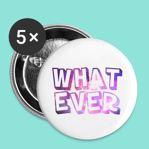 Whatever - Buttons klein 25 mm (5-pack)