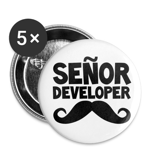 senor comic - Buttons small 1''/25 mm (5-pack)