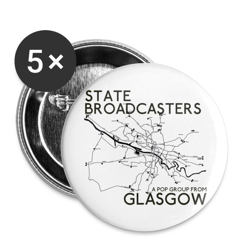 Pop Group From Glasgow - Buttons small 1''/25 mm (5-pack)
