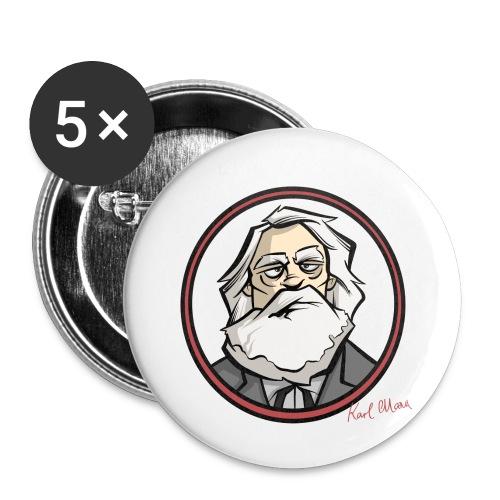 Karl Marx - Buttons klein 25 mm