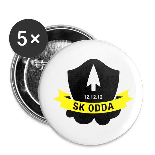 logoskoddanic5 kopi - Liten pin 25 mm (5-er pakke)