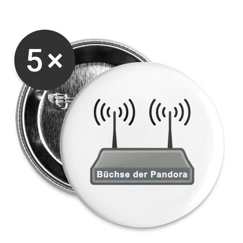 Büchse der Pandora - Buttons klein 25 mm (5er Pack)