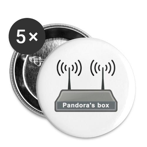 Pandora's box - Buttons klein 25 mm (5er Pack)