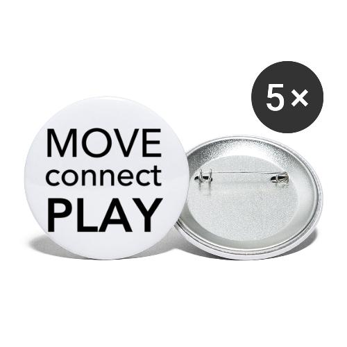 Move Connect Play - AcroYoga International - Buttons small 1''/25 mm (5-pack)