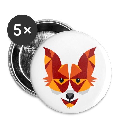 woxx logo transparant png - Lot de 5 petits badges (25 mm)