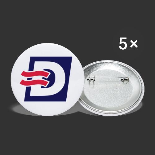D Dahlén Rederiet - Små knappar 25 mm (5-pack)