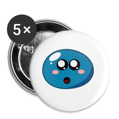 Klops - Buttons klein 25 mm (5er Pack)