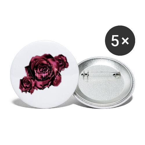 Rose Guardian Small - Liten pin 25 mm (5-er pakke)