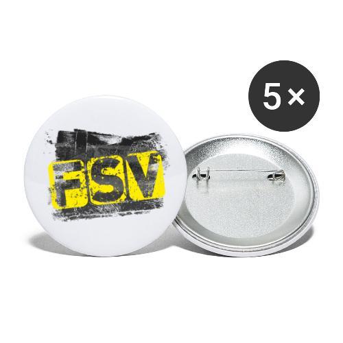 Hildburghausen FSV 06 Graffiti black - Buttons klein 25 mm (5er Pack)