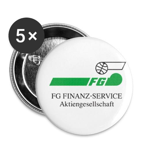 folie1 - Buttons klein 25 mm (5er Pack)