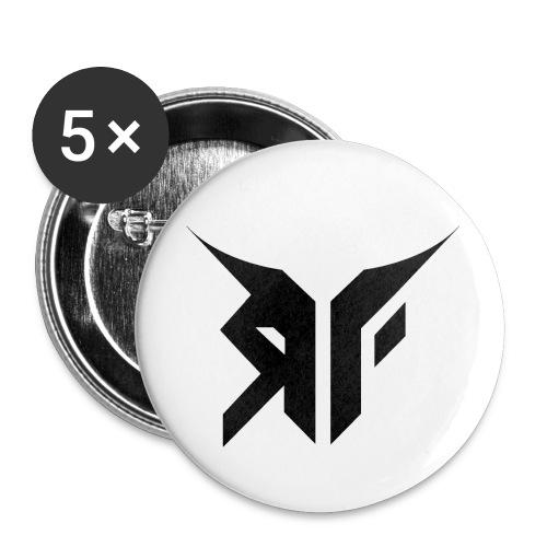 RebelFlyLogoT ShirtPrint png - Liten pin 25 mm (5-er pakke)