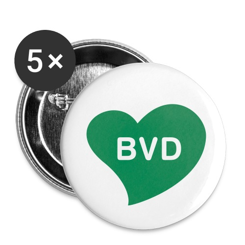 bvd3 - Buttons small 1''/25 mm (5-pack)