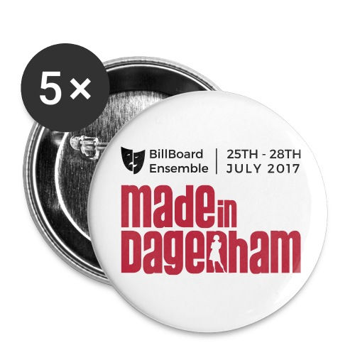 Made in Dagenham Vector - Buttons small 1''/25 mm (5-pack)