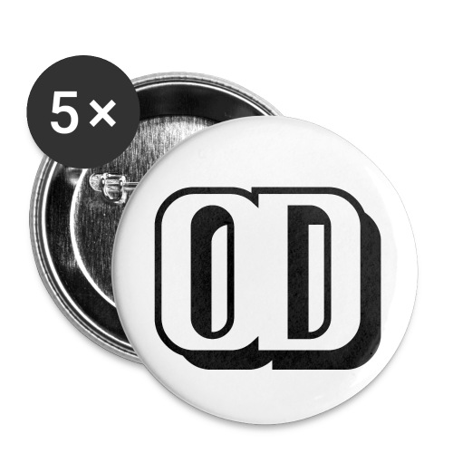 ORIGINAL DADDY LOGO - Buttons small 1''/25 mm (5-pack)
