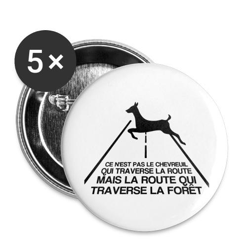 Chevreuil - Badge petit 25 mm