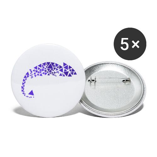 Chamaeleon - Buttons small 1''/25 mm (5-pack)