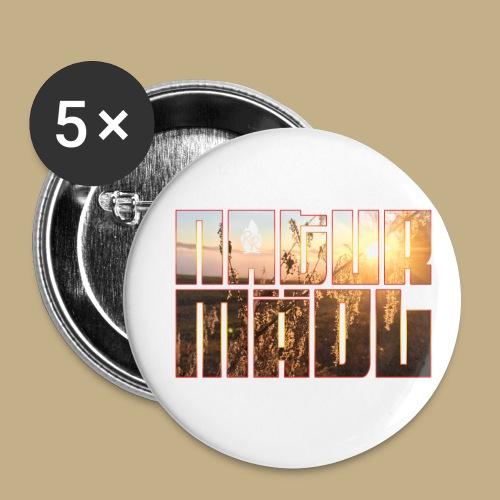 Naturmädl Sky - Buttons klein 25 mm (5er Pack)