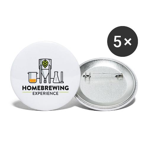 Color Logo - Buttons small 1''/25 mm (5-pack)