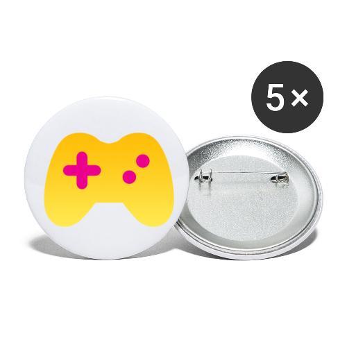 Liberale Gamer Controller - Buttons klein 25 mm (5er Pack)