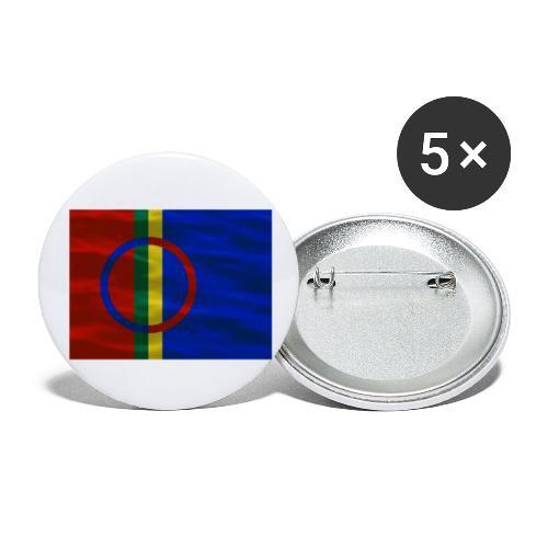Sapmi flag - Liten pin 25 mm (5-er pakke)