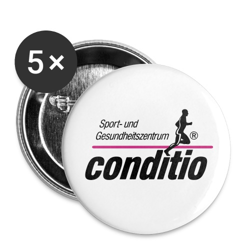 conditio_neu_vektor - Buttons klein 25 mm (5er Pack)