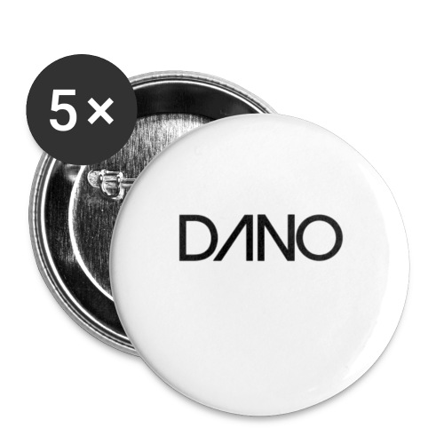 dano - Buttons klein 25 mm (5-pack)