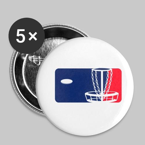Major League Frisbeegolf - Rintamerkit pienet 25 mm (5kpl pakkauksessa)