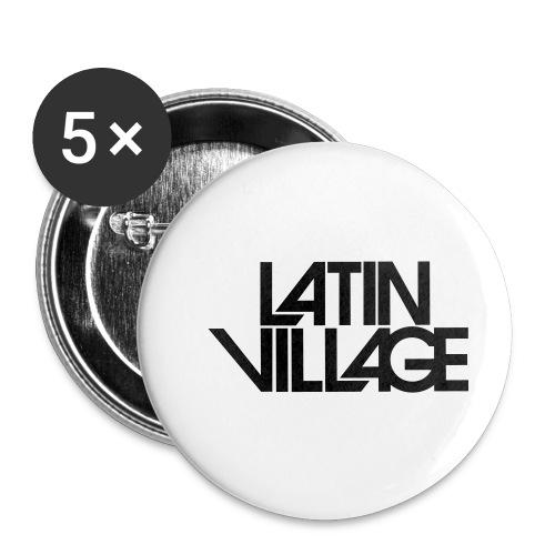 Logo Latin Village 30 - Buttons klein 25 mm (5-pack)