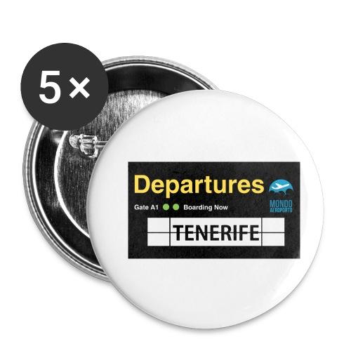 TENERIFE png - Confezione da 5 spille piccole (25 mm)