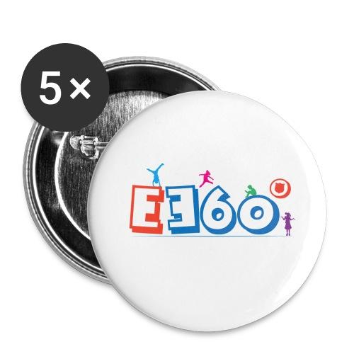 Logo E360 Bambini png - Confezione da 5 spille piccole (25 mm)