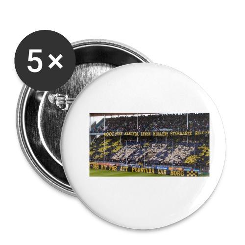 #AIK - Små knappar 25 mm (5-pack)