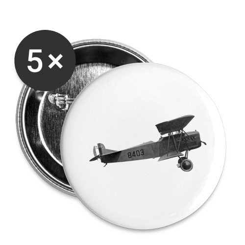 Paperplane - Buttons small 1''/25 mm (5-pack)
