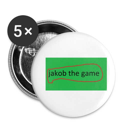 jakob the game - Buttons/Badges lille, 25 mm (5-pack)