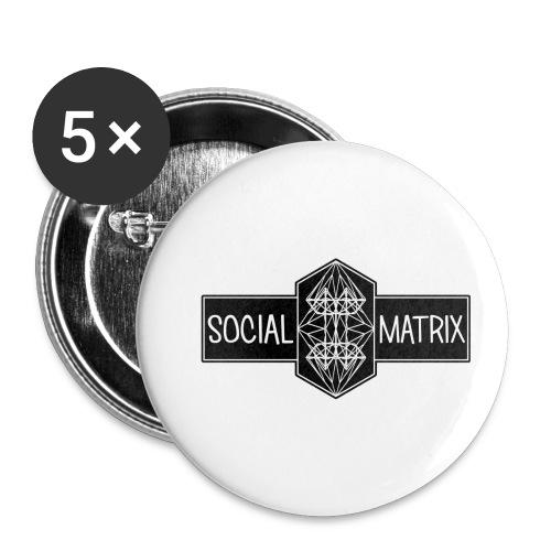 HET ORIGINEEL - Buttons klein 25 mm (5-pack)