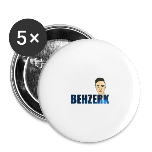 TEE DESIGN 2 png - Buttons small 1''/25 mm (5-pack)