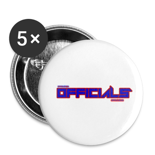 officials - Buttons small 1''/25 mm (5-pack)