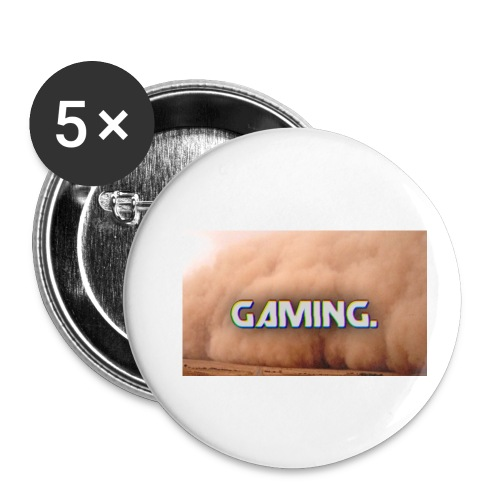 GamingDust LOGO - Buttons small 1''/25 mm (5-pack)