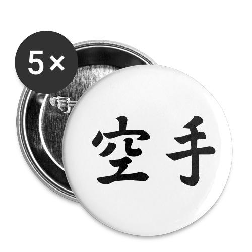 karate - Buttons klein 25 mm (5-pack)