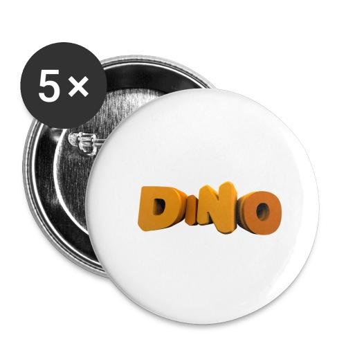 veste - Lot de 5 petits badges (25 mm)