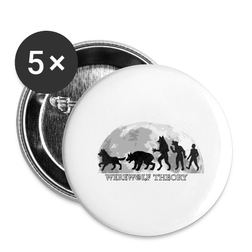 Werewolf Theory: The Change - Buttons small 1''/25 mm (5-pack)