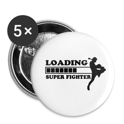 fighter loading - Buttons klein 25 mm (5-pack)